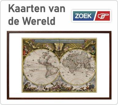 Link naar oude historische kaarten van de wereld
